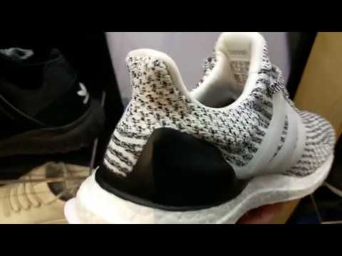 4990cd611 Latest Adidas 3.0 UltraBoost Oreo Zebra Plus Kanye West Triple White SHOES  SNEAKERS KICKS HD 2017