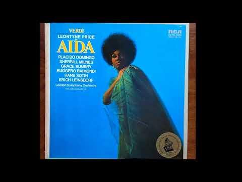 Aida; Price, Domingo, Bumbry, Milnes & Leinsdorf; 1970