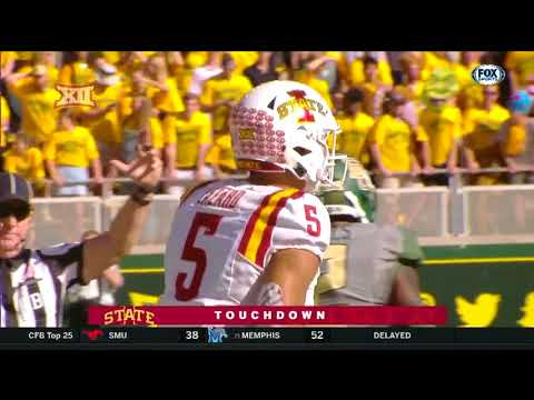 Iowa State vs Baylor Football Highlights