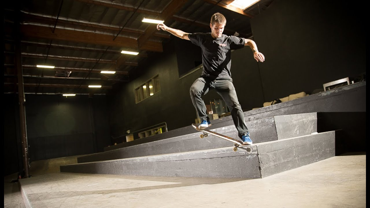 The Longest Grinds In The Berrics With Zach Doelling
