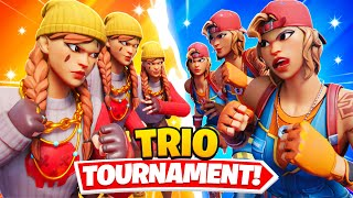 I Hosted a TRIOS Tournament for $100 in Fortnite... (FIGHT BROKE OUT!)