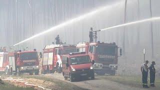 En Allemagne, un incendie explosif