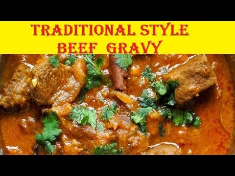how to make beef gravy in tamil