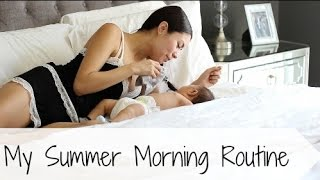 My Morning Routine W/ Baby Liam