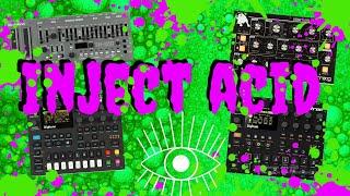 Digitakt & Digitone & SH-01A & Minitaur - Jam on Cam - (Inject Acid)