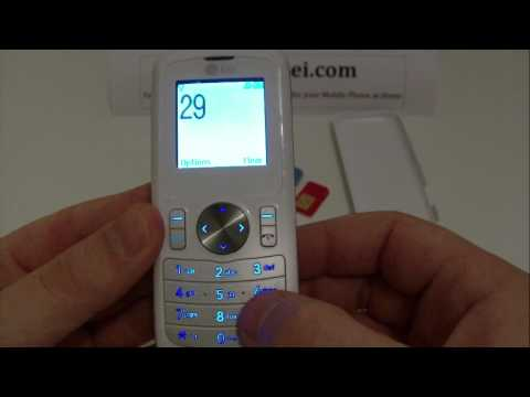 LG GB102 Unlock & input / enter code