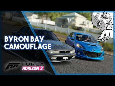 Forza Horizon 3 | Byron Bay Camouflage! (Funniest Seeker Moment, Twists, and More!)