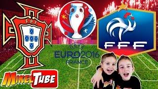 Predicción PORTUGAL vs FRANCIA Final Eurocopa 2016 con Adrenalyn XL