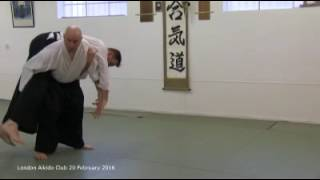Yokomen uchi koshi nage - 20 Feb 2016