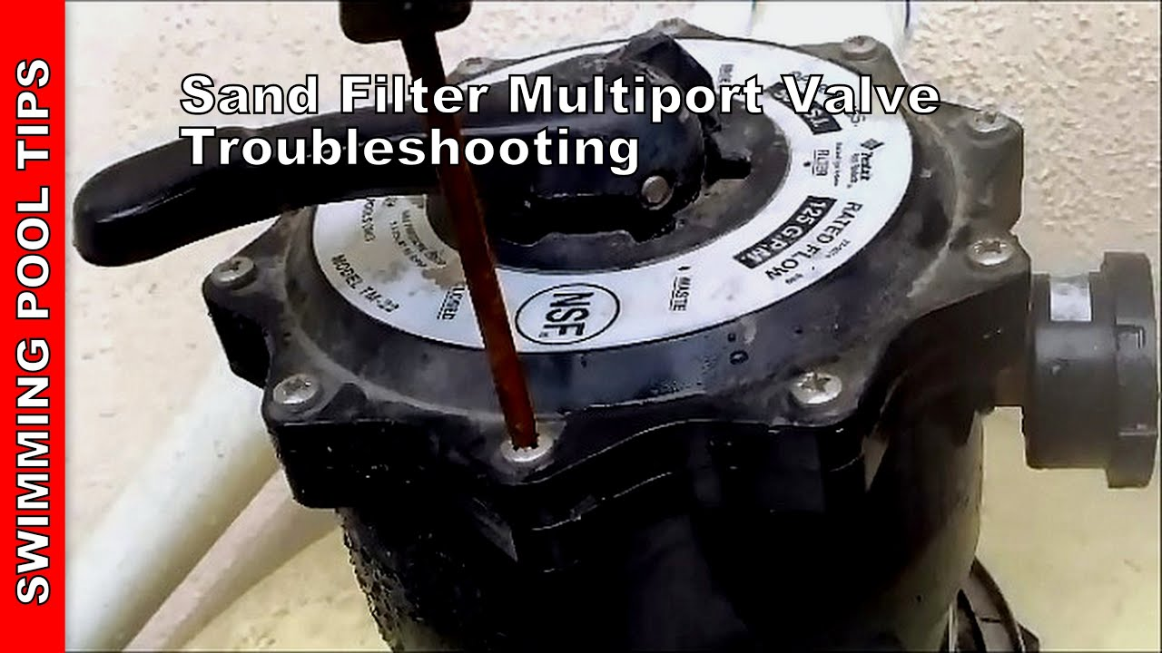 Jacuzzi Pool Top Caps Sand Filter Multiport Valve Troubleshooting Sand Filter Part 2