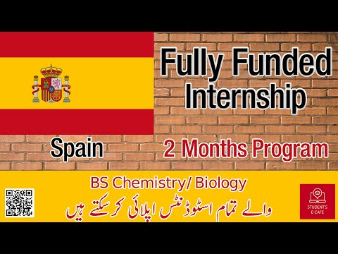 Internship Programs For Undergraduate Students In Spain | Student's E-Cafe