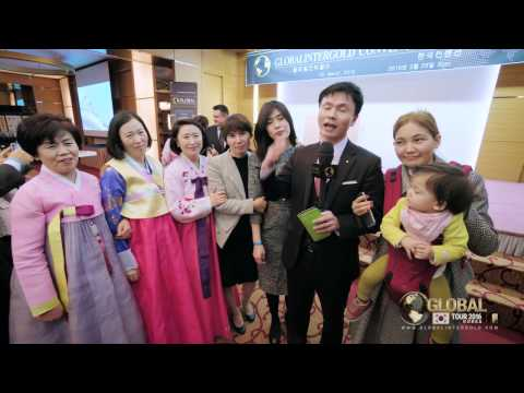 Global Tour 2016 in Busan: Global InterGold is a business for families