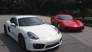 Would You Rather? Ferrari 360 Modena vs. Porsche Cayman S