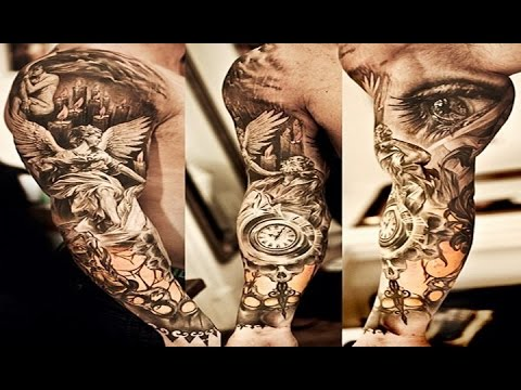 Awesome Tattoos for Men Sleeves