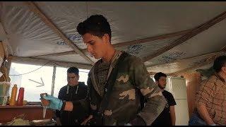 Syrians in Greece: The Falafel Maker