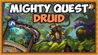Hearthstone: The Mighty Legend Quest Druid