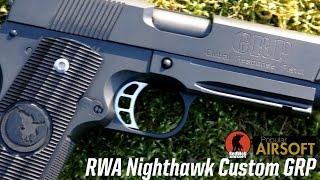 RWA Nighthawk Custom GRP Airsoft Pistol