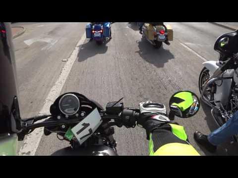 2017 Harley Street Rod First Ride
