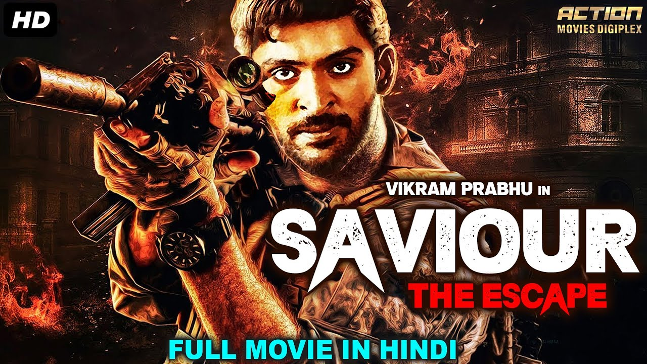SAVIOUR THE ESCAPE - Hindi Dubbed Full Action Movie | South Indian Movies Dubbed In Hindi Full