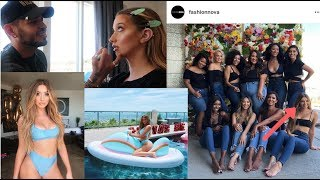 FASHION NOVA FLEW ME OUT ON MY BIRTHDAY | THE FIRST NOVABABE EXPERIENCE