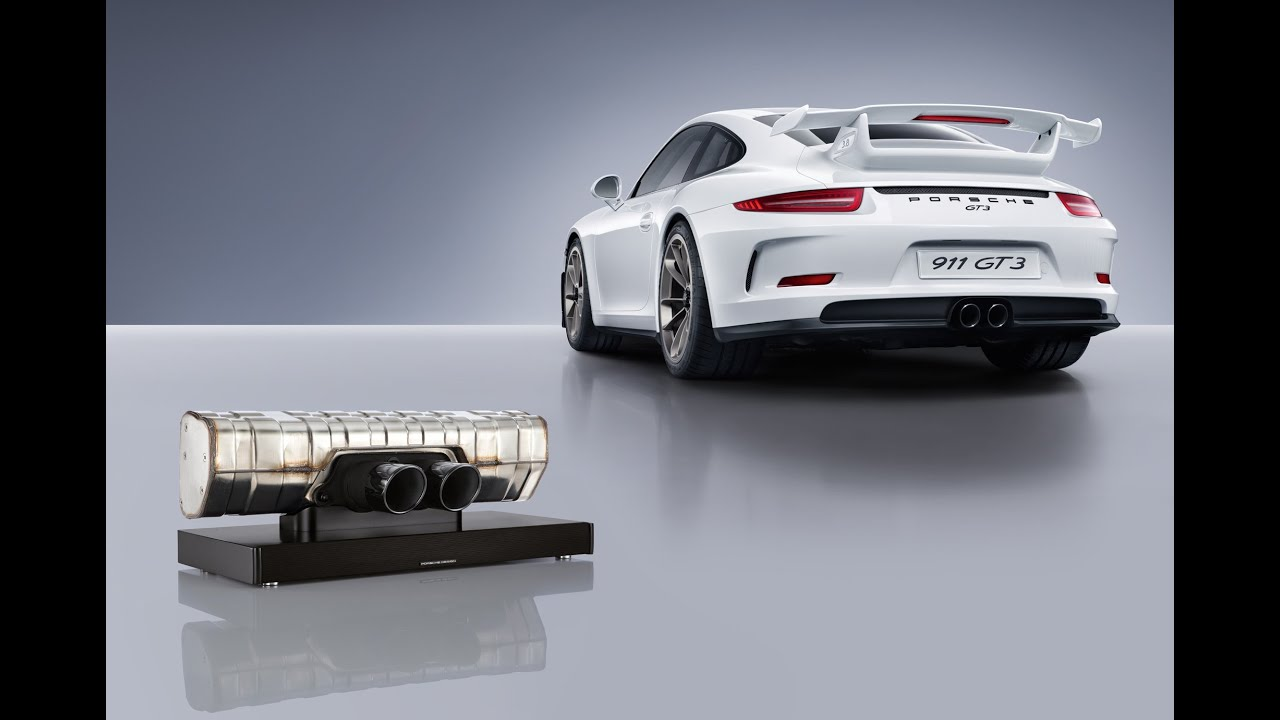 The Sound Of The Racetrack The Porsche Design 911 Soundbar