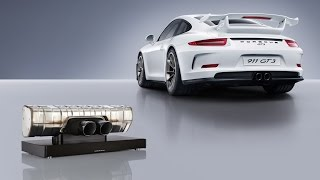 The Sound of the Racetrack. The Porsche Design 911 Soundbar.