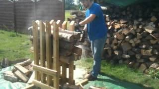 Chevalet fabrication maison jfcmabec - Support pour couper du bois de chauffage ...