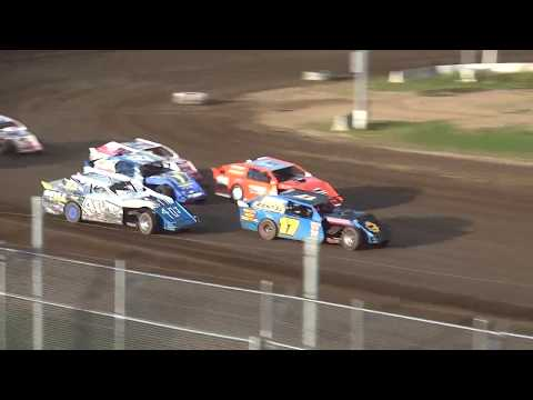 IMCA Sport Mod Heat 2 Independence Motor Speedway 8/24/19
