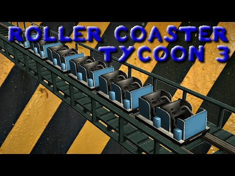 Roller Coaster Tycoon 3 - Ep. 1 - New Simulator!