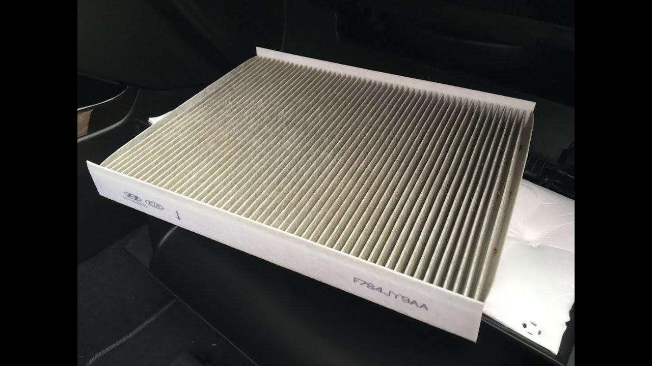 Cabin air filter change f784jy9aa kia sorento youtube for Kia soul cabin air filter