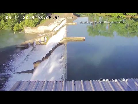 VIDEO: Texas' Lake Dunlap Dam Collapse Caught On Camera