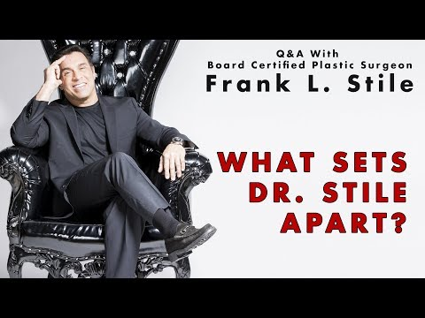What Sets Dr. Stile Apart?