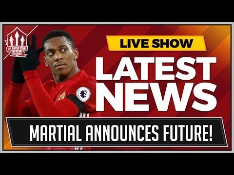 "Anthony MARTIAL ""RUMOURS ARE FALSE!"" Plus Alvaro MORATA Man Utd Transfer News"