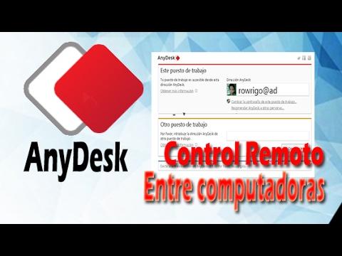 Acceder remotamente a una computadora con AnyDesk – Escritorio Remoto