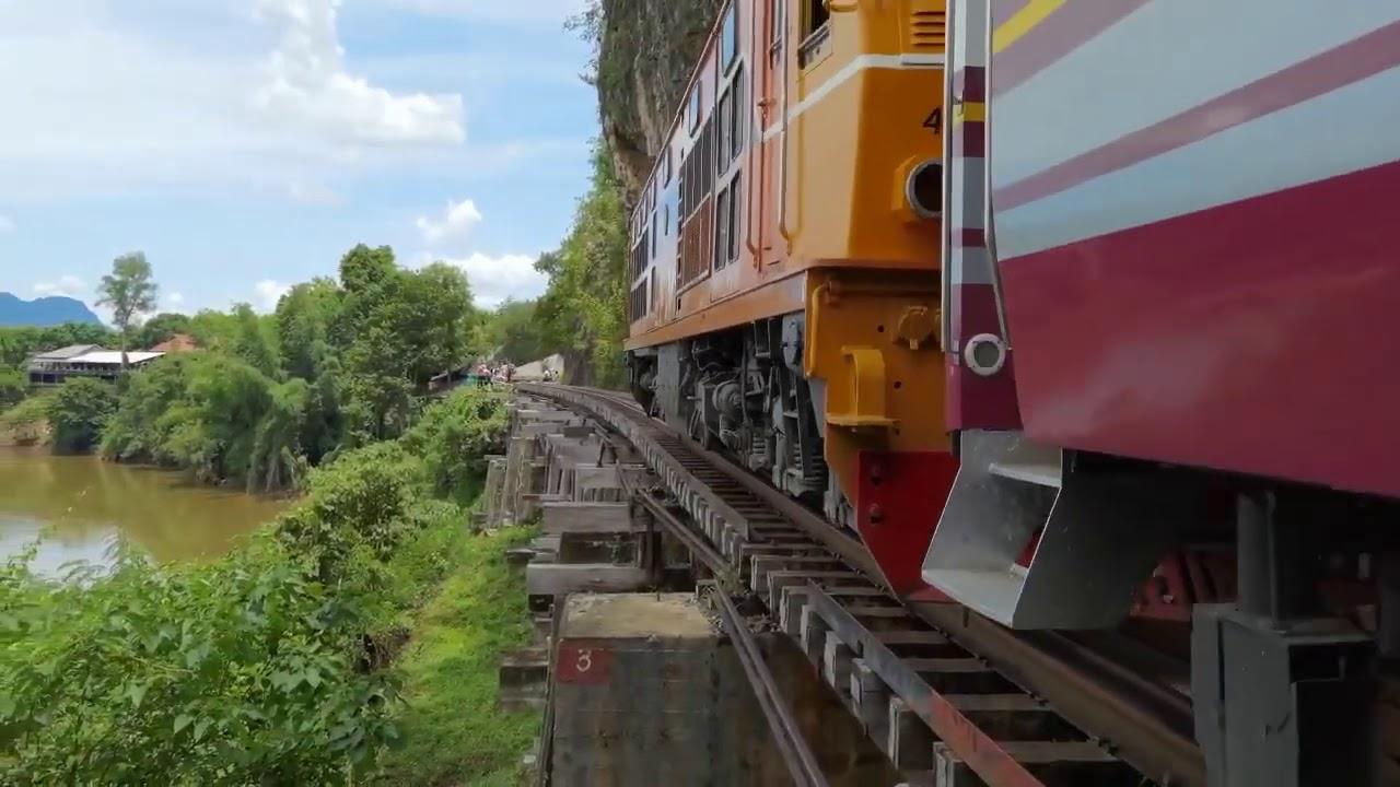 ทางรถไฟสายมรณะ - ถ้ำกระแซ #รถไฟไทย