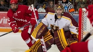 Highlights: Minnesota Wins First B1G Hockey Game Against Wisconsin 4-1