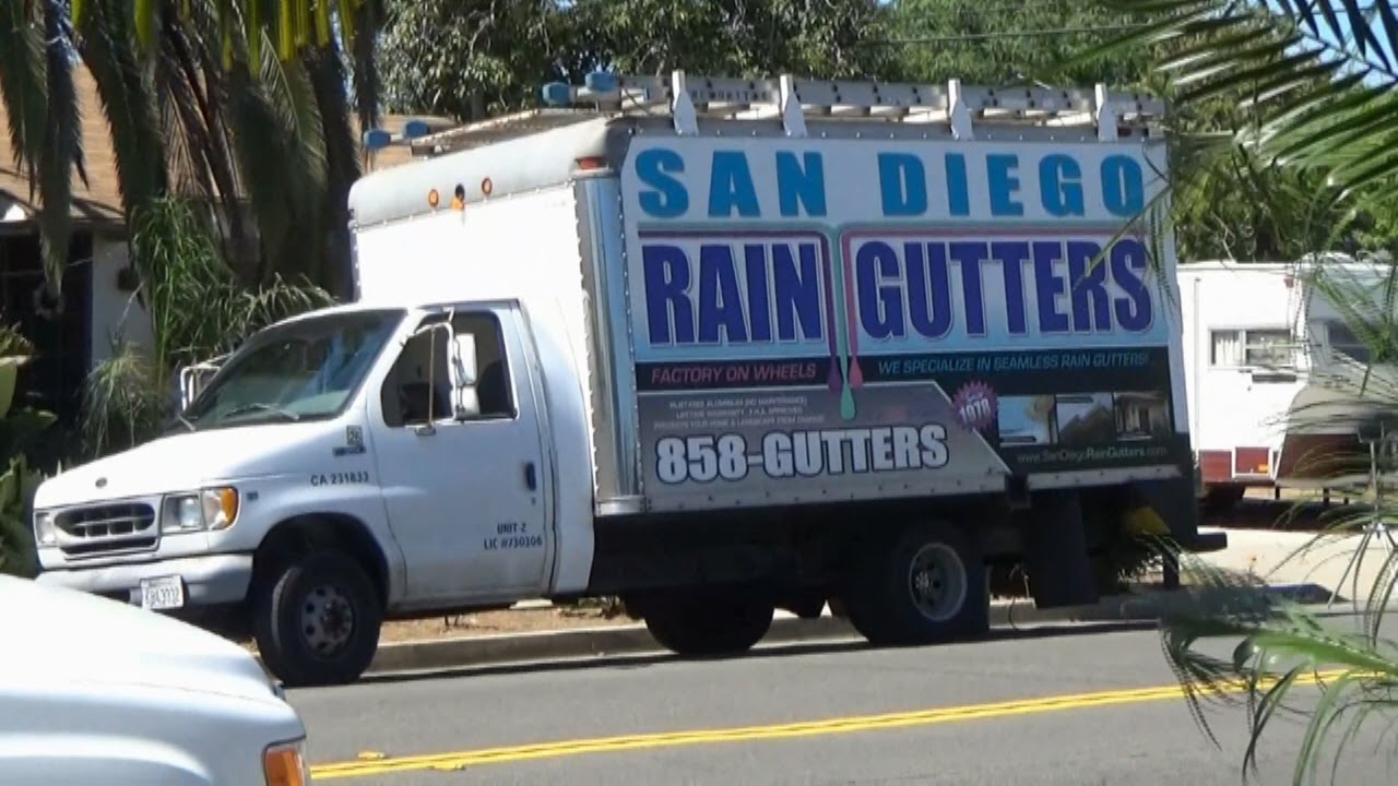 Affordable Seamless Rain Gutters San Diego Youtube