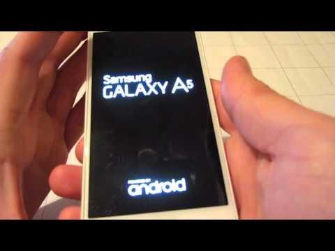 Hard Reset Samsung A5 A500h  - Полный сброс - обходим пароли - Телефон Заблокирован