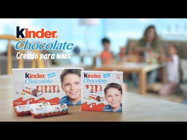 Kinder® Chocolate, creado para niños