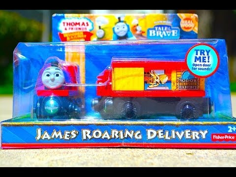 Thomas & Friends JAMES' ROARING DELIVERY 3 Pack Mattel Fisher Price Toy Train Review