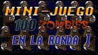 mini juego zombies 100 muertes en la ronda 1 call of duty black ops 2