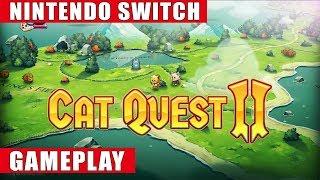 Cat Quest II Nintendo Switch Gameplay