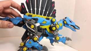 Custom Zoids Dark Spiner Review