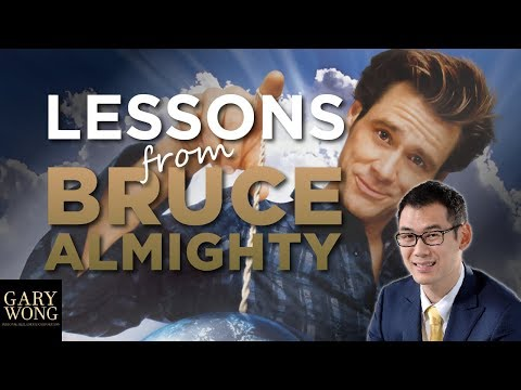 Lessons from Jim Carrey and Morgan Freeman in Bruce Almighty And It Changed My Life