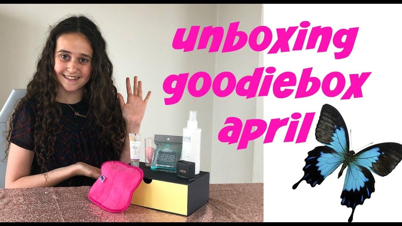 Goodiebox unboxing April 2019