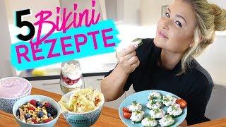 ♥︎ 5 ANTI HEIßHUNGER Rezepte | Einfache Fitness Snacks ♥︎ Sophia Thiel