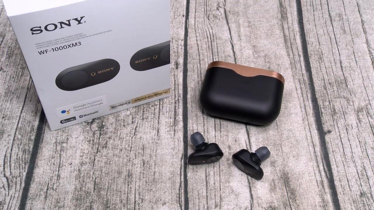 """Sony WF-1000XM3 Truly Wireless Noise Cancelling Earbuds """"Real ..."""