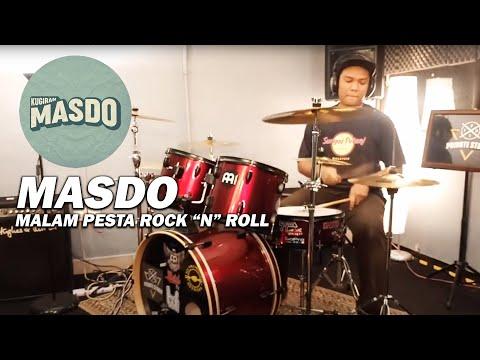 Masdo - Malam Pesta Rock 'N' Roll (Drum Cover)