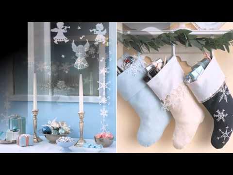 Смотреть онлайн Бумажный новогодний декор своими руками. Что можно сделать из бумаги на Новый год