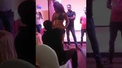 Desi call girl dancing in club